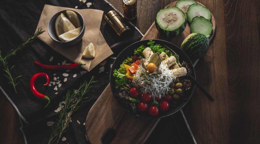 Bowls mit frischem Gemüse vom Fidelio in Balingen