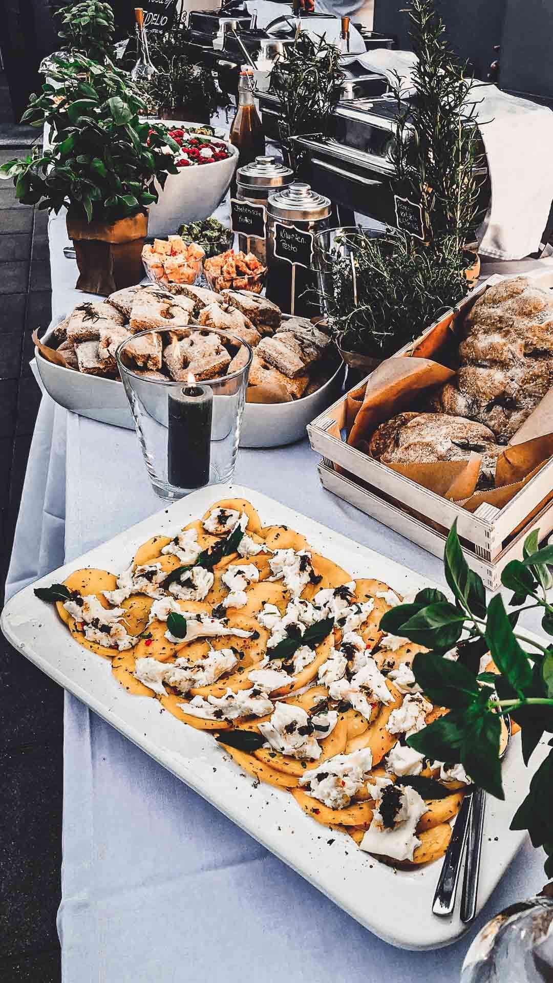 Catering vom Fidelio in Balingen auf einer Grillparty